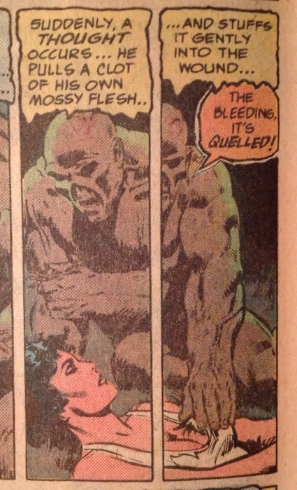 Roots The Saga Of An American Family: The Saga Of Swamp Thing Annual 1