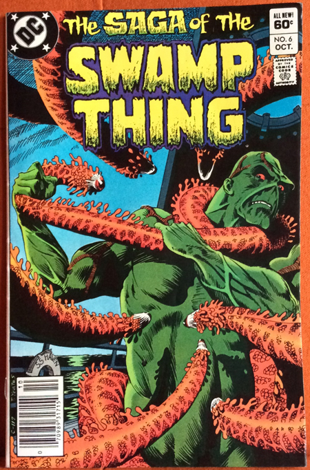 Roots The Saga Of An American Family: The Saga Of The Swamp Thing 6 (Series 2