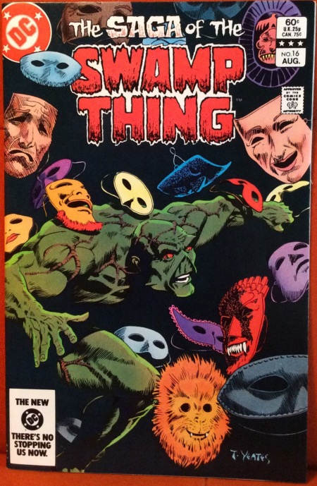Image result for saga of swamp thing 16