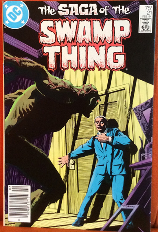 Roots The Saga Of An American Family: Saga Of The Swamp Thing 21